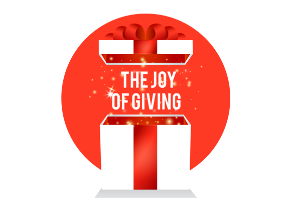 Give a small gift, make a big difference