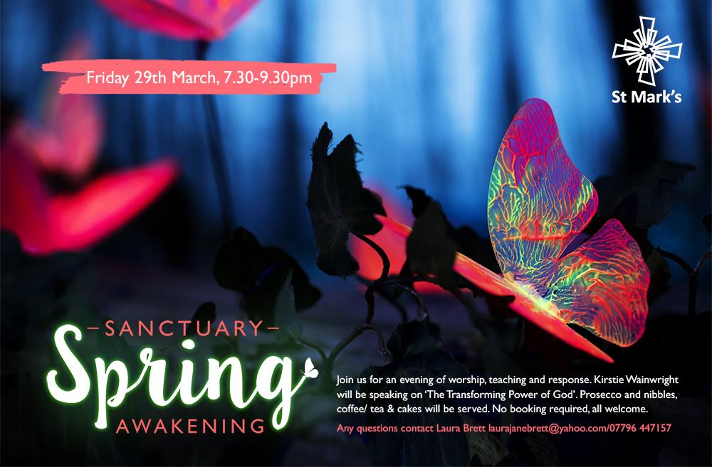 Sanctuary Spring Awakening