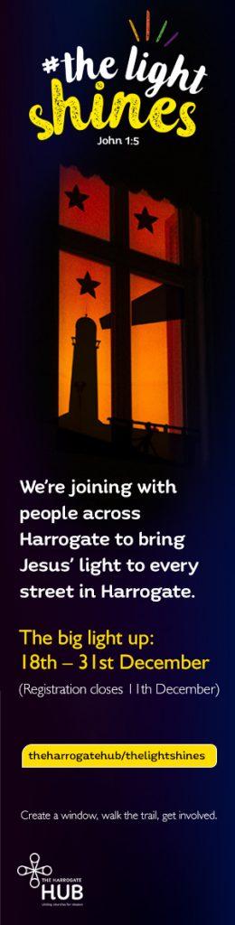 the light shines harrogate